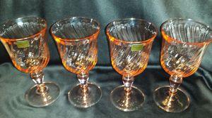 Crystal glasses France