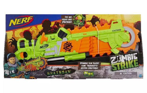 Nerf zombie strike brainsaw gun