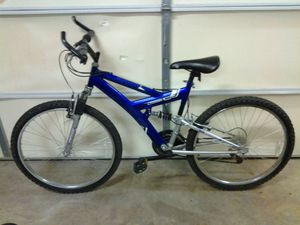 Blue 18 speed Huffy