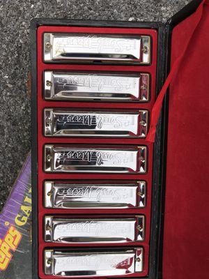 Soul man harmonica set