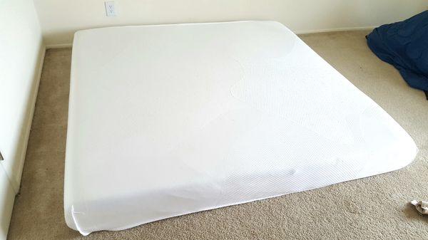 Spa Sensations 8 Memory Foam Mattress King Size Furniture In