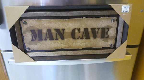 Man Cave Rules : Kirkland man cave wall art decor rules both 12 × 23.5