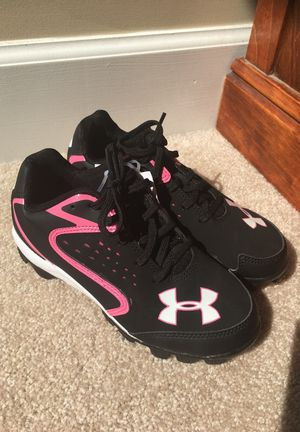 Brand new -never worn under armory girls cleats sz 1