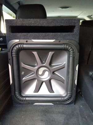 "15"" kicker L7 subwoofer firm price"