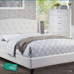 Bed & Mattress Blowout Sale! 🆕 Amazing Queen Bed with 🆕 Queen Orthopedic Mattress ✔ Limited Time Offer