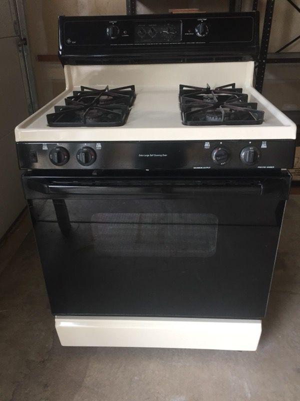 Gas Stove GE XL44 Appliances in Moorestown NJ OfferUp