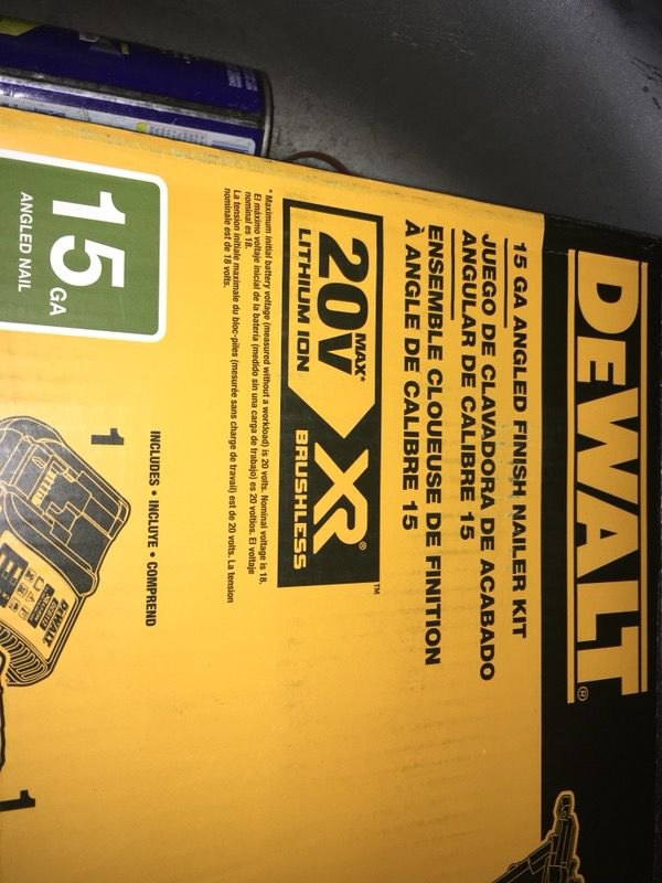 Dewalt nail gun (Tools & Machinery) in Hayward, CA - OfferUp