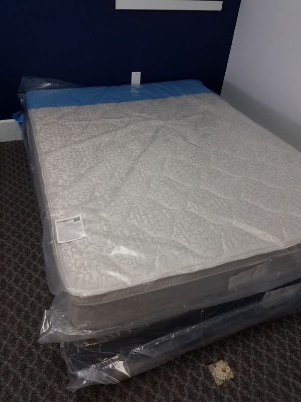 Queen Mattress New In Plastic New Box Furniture In Fort Collins Co
