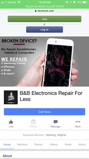 B&b electronics repair for less . Looking for customers around the dmv trying to get their phones fixed for the cheapest price ever please contact me