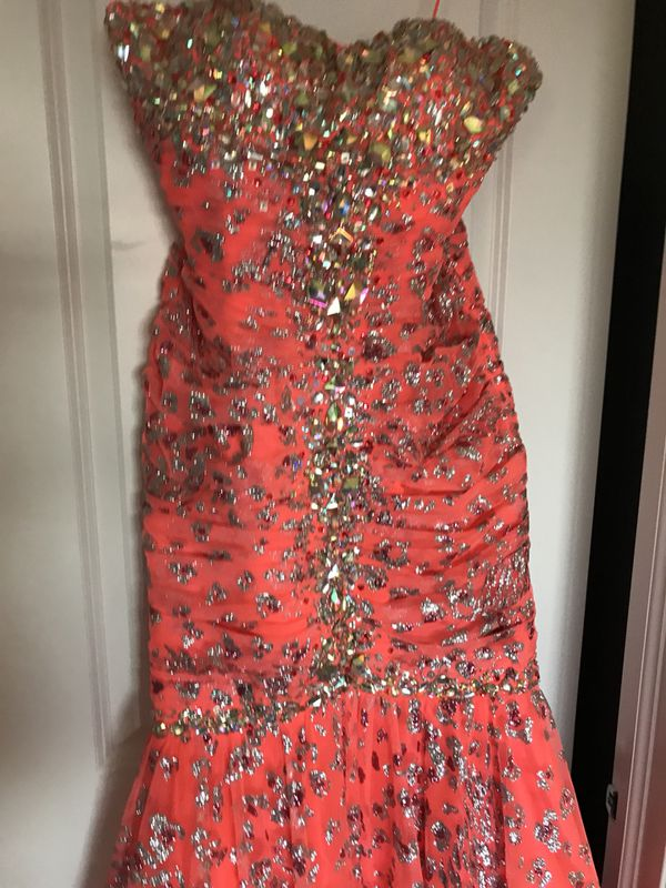 Prom dress size 8 stunning strapless (Clothing & Shoes) in Orland ...