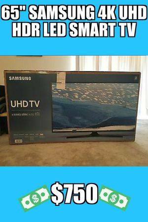 "65"" Samsung 4k UHD HDR LED Smart Tv 2160p (FREE DELIVERY)"