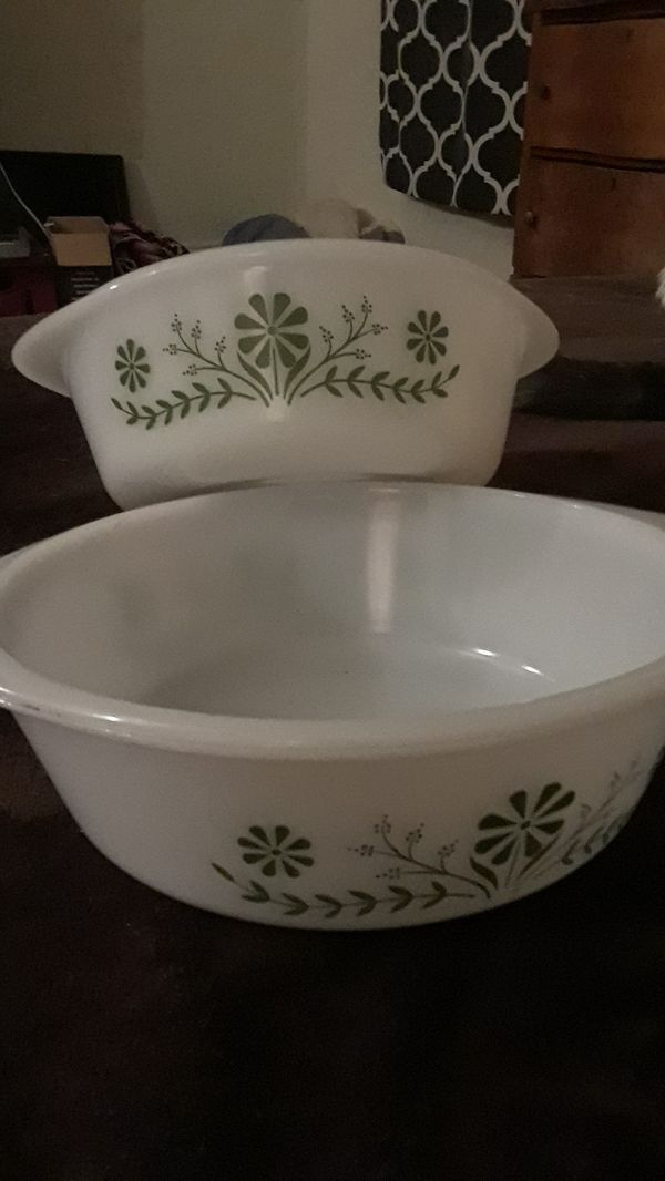 Vintage Glasbake Bowls (Antiques) in Troy, NY