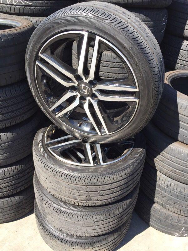 2016 honda accord sport wheels oem cheap auto parts in san lorenzo ca. Black Bedroom Furniture Sets. Home Design Ideas