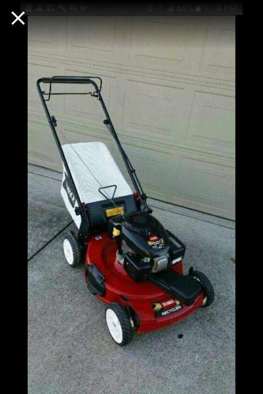 Toro Lawn Mower Fresh