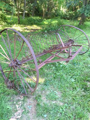 Antique McCormick Deering Hay Rake
