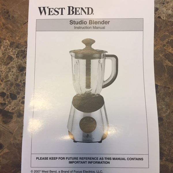 Brand new blender never been used