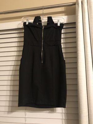 Black bodycon dress size small