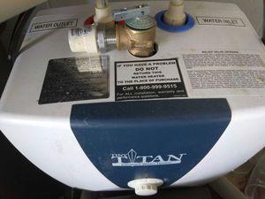 Titan electric water heater
