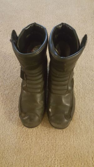 ALPINE Star motorcyle boots.
