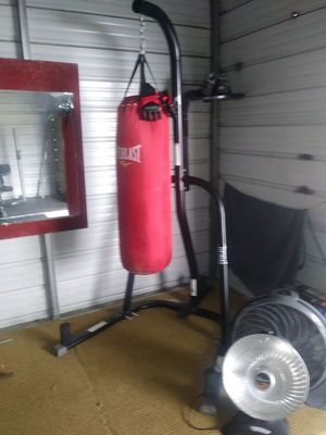 Everlast whole set just needs a speed bag. Trades or cash