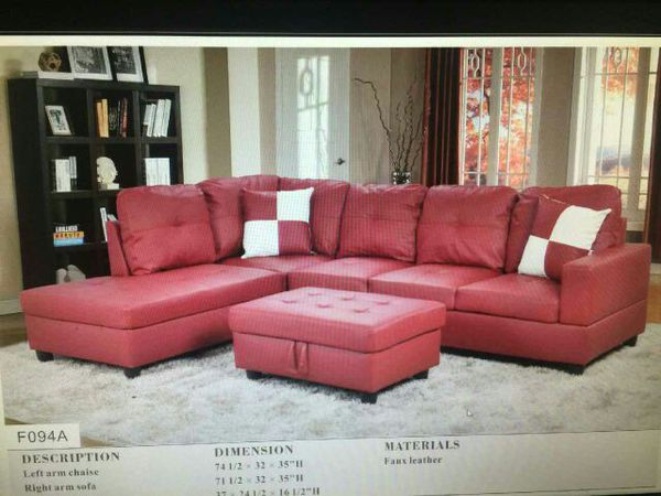 Red Sectional (Furniture) in Tampa, FL