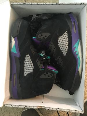 Black grape 5s size 11.5