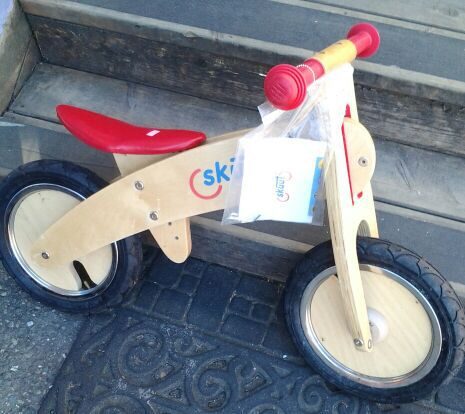 Skuut Wooden Balance Bike Baby Kids In Seattle Wa Offerup