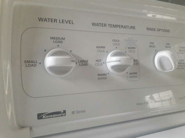 kenmore 90 series washer. kenmore heavy duty super capacity plus 90 series washing machine washer