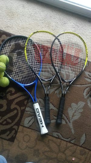 Tennis rakets