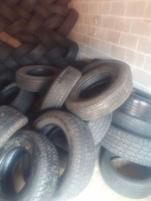 I got use tires idont have space ask for size