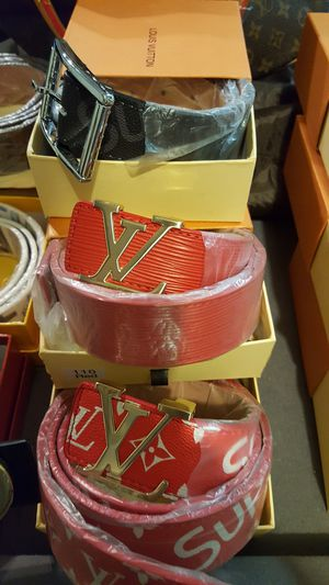 Supreme LV belts