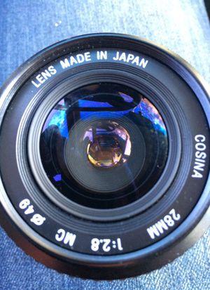 Cosina 28mm 1:2.8 Japan