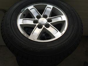 Gmc 17 inch set of wheels
