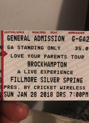 Brockhampton ticket