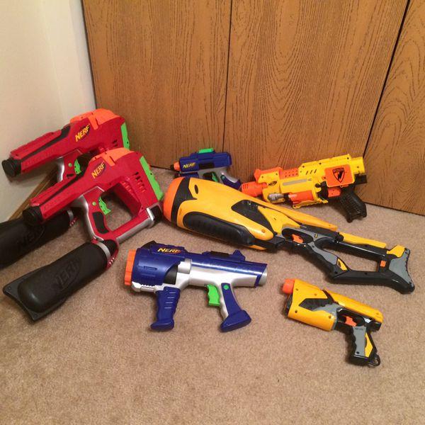 Nerf Gun Lot, Excellent Condition