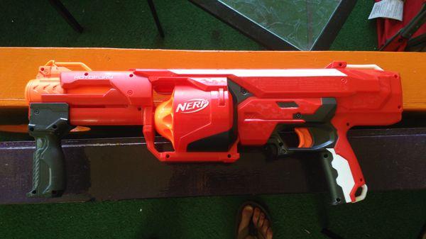 ... Nerf-N-Strike-Elite-MEGA-Rotofury-Dart-Gun