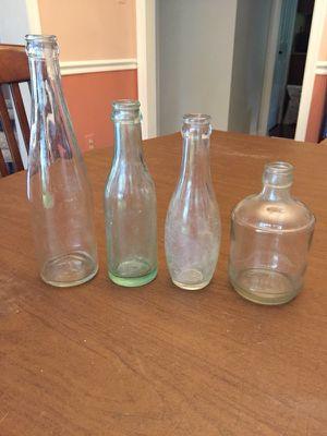Vintage 1920s-30s Bottles