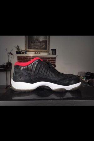 Jordan 11 Lows IE Black/Varsity Red Sz11.5 Sz11 1/2