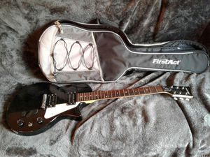 First act electric guitar with nice case