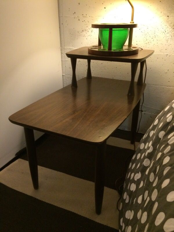 Mid century Formica end table Furniture in Seattle WA