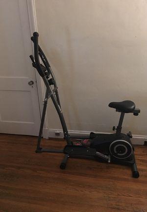 exercise bike/elliptical machine