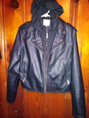 Small female Leather Jacket