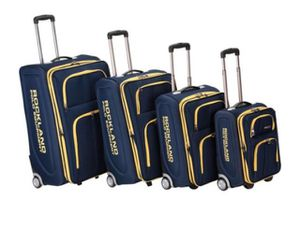 Brand new 4 pieces rockland navy blue luggage