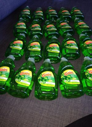 * 20 Bottles Ultra GAIN Dishwashing Liquid . Please See All The Pictures and Read the description