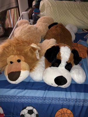 Brand new plush big teddy dog/lion
