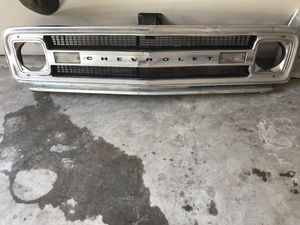 67-72 Front grille complete