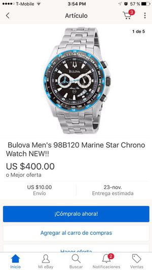 Bulova Men's 98B120