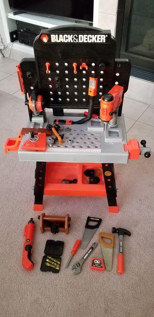 Black and Decker toy workshop