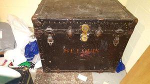 Antique/Vintage Steamer Trunk