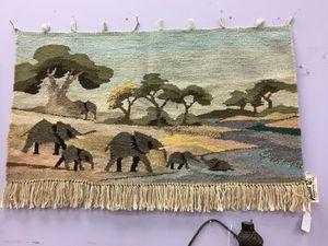 African wall hanging (Botswana, hand woven wool